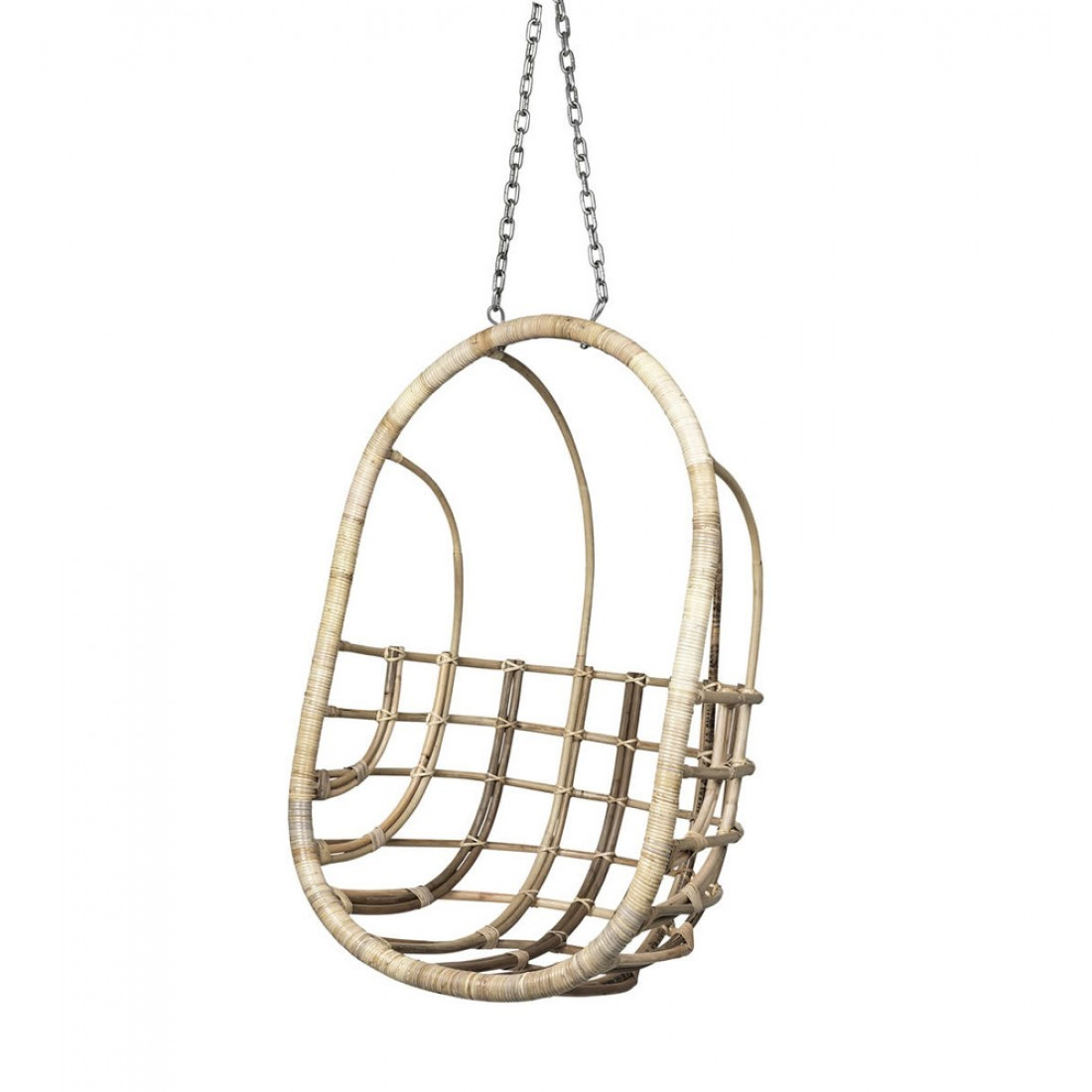 Rotan Hang Stoel.Broste Hangstoel Egg Chair Rotan