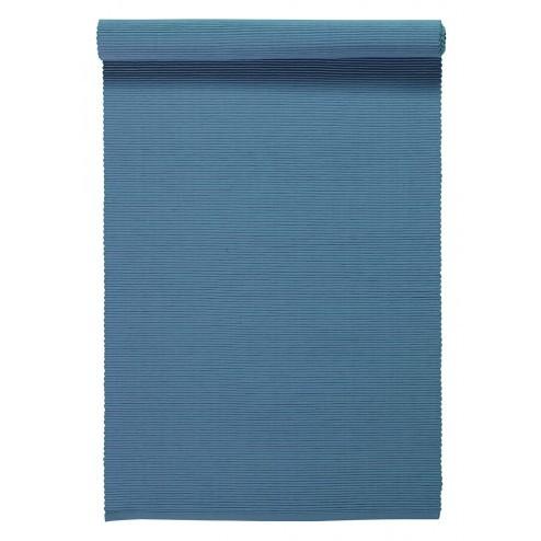 Linum Tafelloper Uni blauw