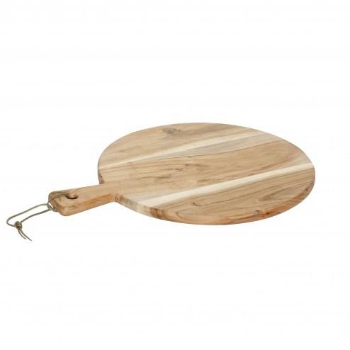Hübsch houten snijplank, 33cm