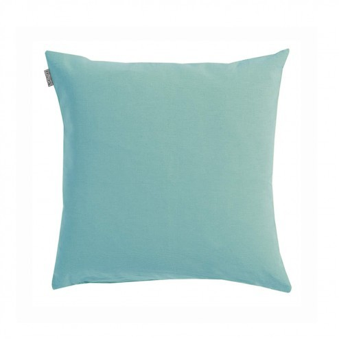Linum kussenhoes Annabell teal 40x40cm