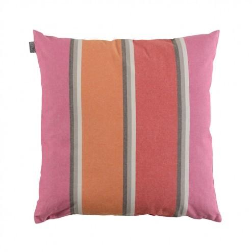 Linum Celia kussenhoes roze oranje 50x50cm
