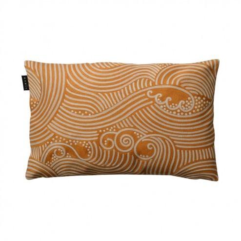 Linum kussenhoes Edo, oranje, 40x60cm