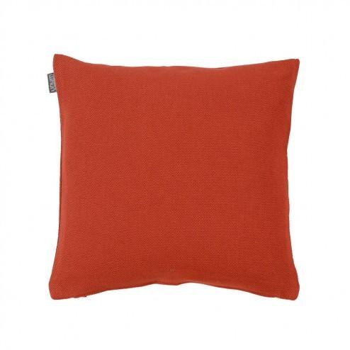 Kussenhoes Linum Pepper donker oranje 40x40cm
