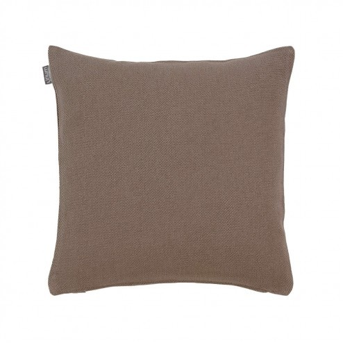 Kussenhoes Linum Pepper donkertaupe 40x40cm