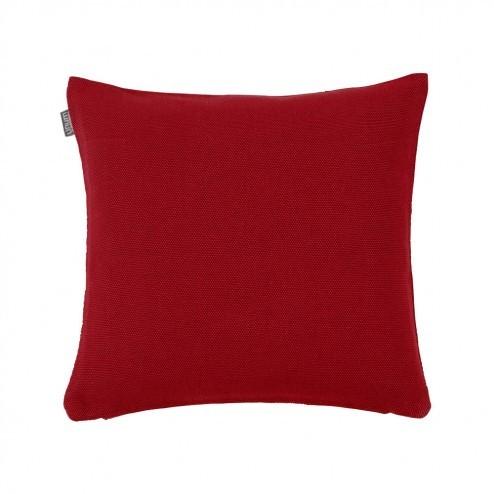 Kussenhoes Linum Pepper donker rood 40x40cm