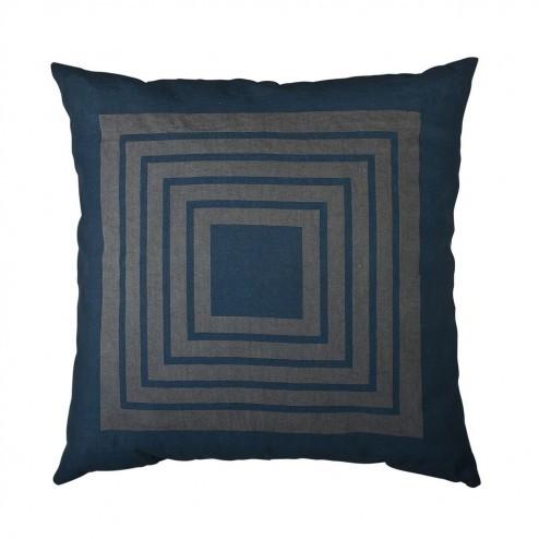 Kussenhoes Maze, lila koper gestreept, 50x50 cm