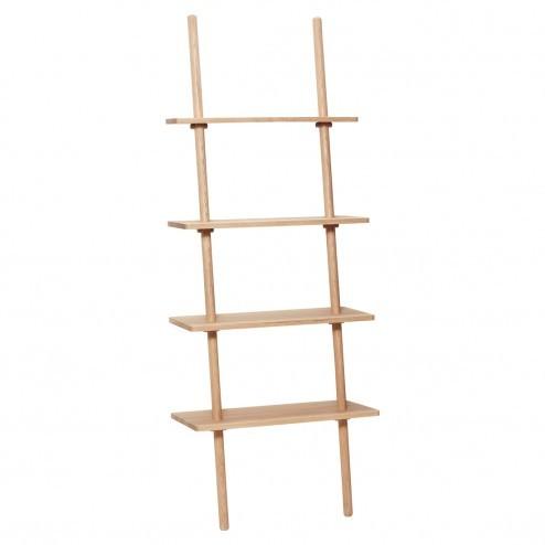 Hübsch display ladder met vier planken, 185cm