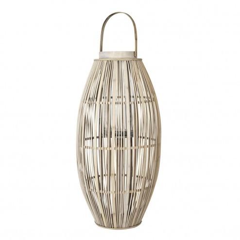 Broste Copenhagen lantaarn Aleta van hout en bamboe 77.5cm