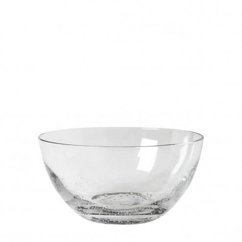 Broste Copenhagen Bubble glazen kom, Ø19cm