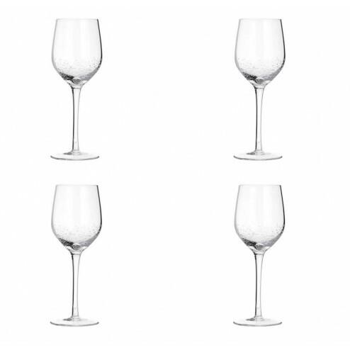 Broste Bubble wijnglas (4 stuks), 35cl
