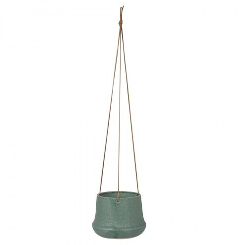 Broste hangende bloempot Caroline, groen, Ø16cm