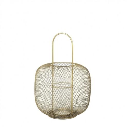 Broste Copenhagen lantaarn Boden, metaal en glas, 42.5cm