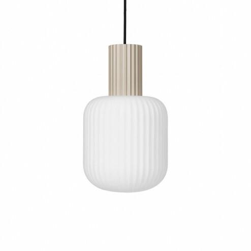 Broste Copenhagen glazen hanglamp Lolly, Ø20cm