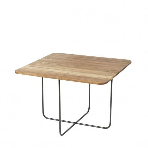 Broste Copenhagen vierkante eikenhouten tafel Hyben, 60cm