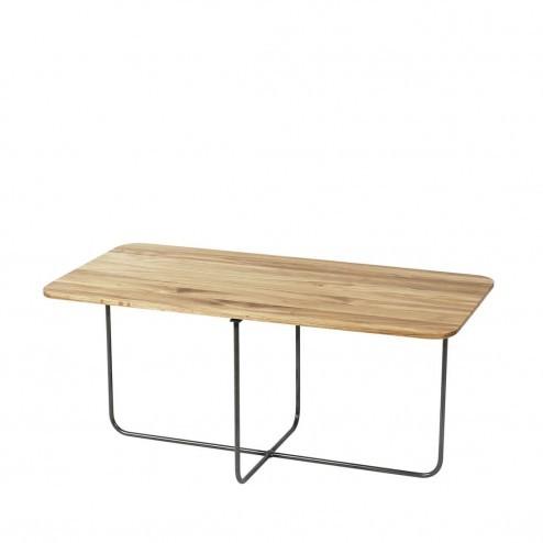 Broste Copenhagen lage eikenhouten tafel Hyben, 80cm