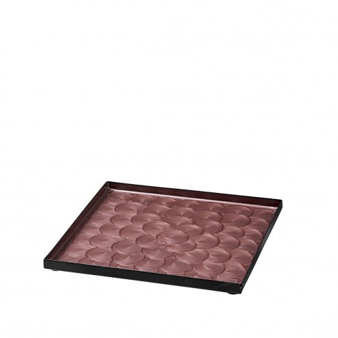 Broste Copenhagen sier dienblad Sara in roze, 20cm