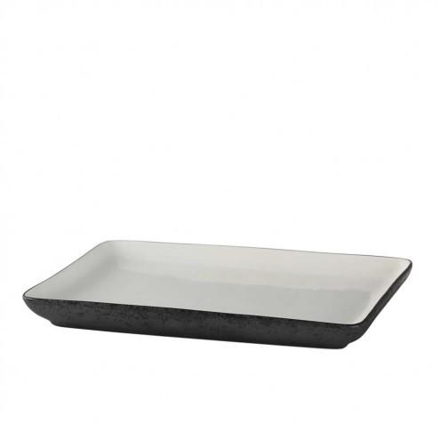 Broste Esrum rechthoekig bord, 23,5cm