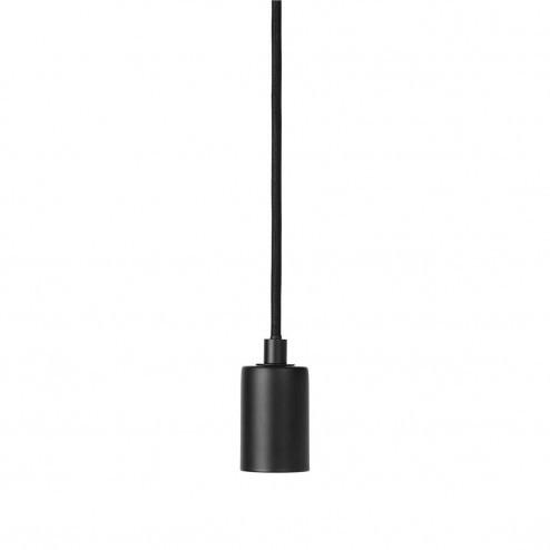 Broste Copenhagen hanglamp Gerd van zwart metaal, ø4cm