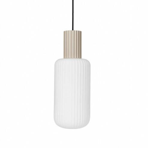 Broste Copenhagen glazen hanglamp Lolly, Ø16cm