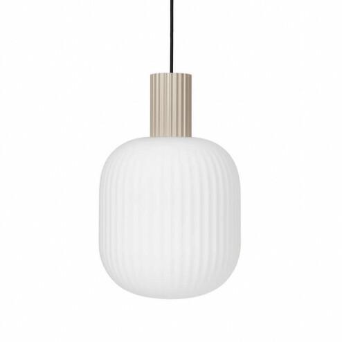 Broste Copenhagen glazen hanglamp Lolly, Ø27cm