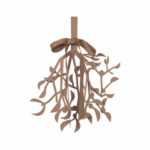 Broste papieren kerstversiering Mistletoe