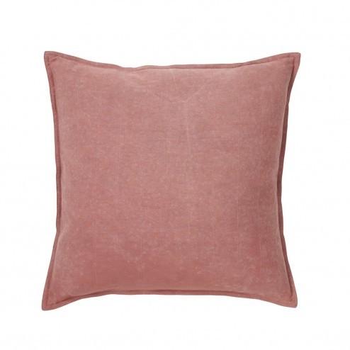 Broste kussenhoes Marius in roze katoen, 50x50cm