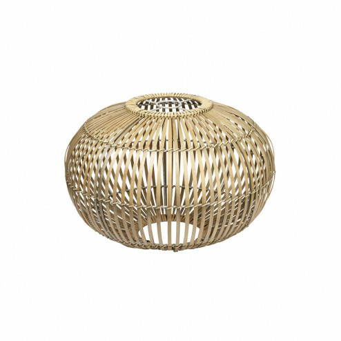 Broste lampenkap Zep van bamboe, Ø38cm