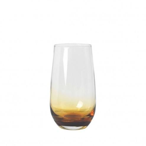 Broste Amber longdrink glas, 55cl