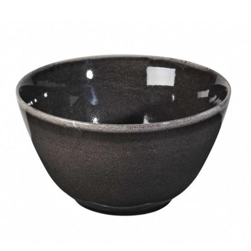 Broste Nordic Coal hoge schaal, 20cm