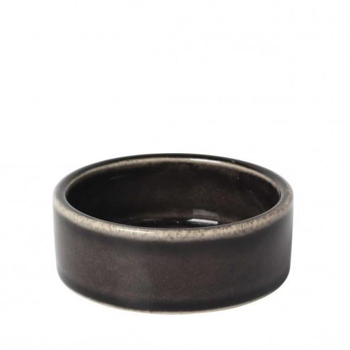Broste Nordic Coal rond schaaltje, 8cm