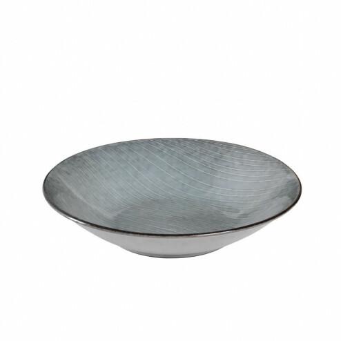 Broste Nordic Sea klein pasta bord, 22.5cm