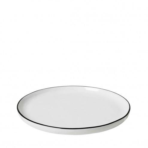 Broste Salt dessertbord 18cm, porselein