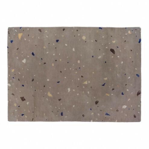 Broste vloerkleed Terrazzo in beige, 140x200cm