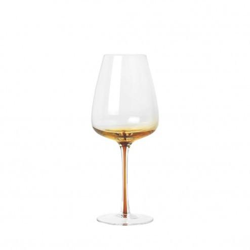 Broste Amber wijnglas