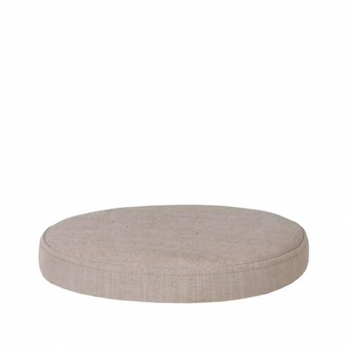 Broste rond zitkussen Ninna, Ø34cm, beige