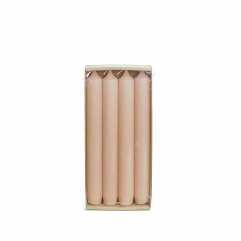 Rustik Lys 4x dinerkaarsen hoogglans, 2,1x19cm, blossom