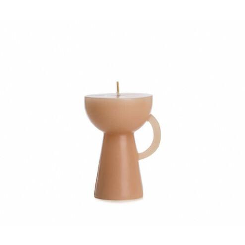 Rustik Lys figuurkaars Cup, skin