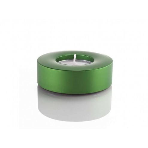 Waxinelicht houder groen, met theelichtje