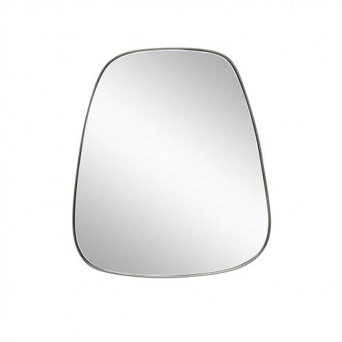Hubsch hangende spiegel met metalen rand, 48cm
