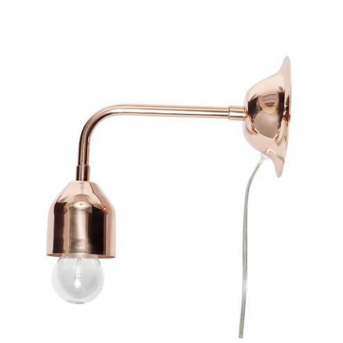 Hubsch koperkleurige wandlamp