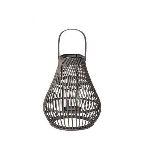 Broste Copenhagen lantaarn Twist, bamboe, 36cm