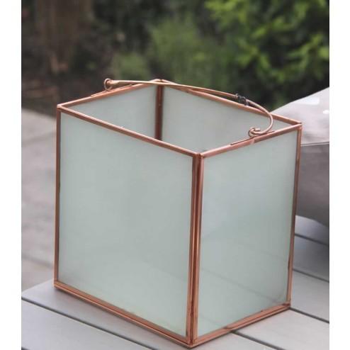 Broste lantaarn Royce, glas met koper-Broste Copenhagen-34