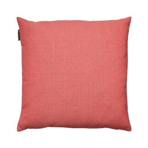 Kussenhoes Linum Pepper koraal roze 50x50cm