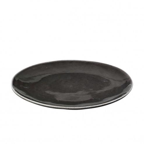Broste Nordic Coal dinerbord, 26cm