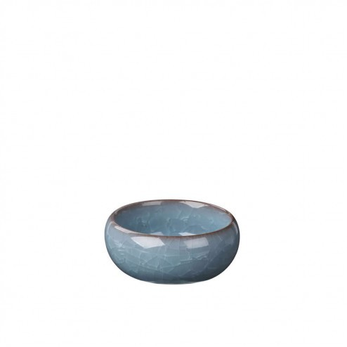 Waxinelicht houder Ebba van keramiek, Ø7x3,5 cm