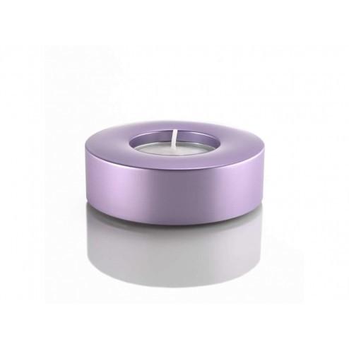 Waxinelicht houder violet, met theelichtje