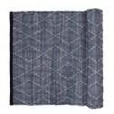 Broste vloerkleed Vilda, grijsblauw katoen, 140x200cm