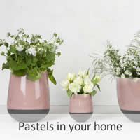 Pastels in your home