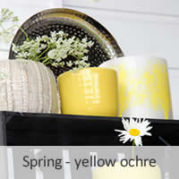 Spring - yellow ochre